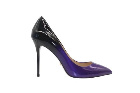 Туфли-лодочки Angelina Voloshina темно-фиолетовые в интернет-магазине DRESS'EX