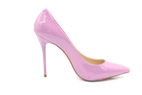 Туфли-лодочки Angelina Voloshina сиреневые в интернет-магазине DRESS'EX