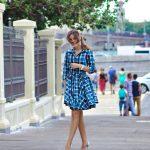 Яркое платье с пышной юбкой  в интернет-магазине www.dressex.ru