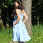 Голубой сарафан в интерне-магазине www.dressex.ru