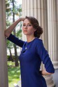Синее мини-платье в интернет-магазине www.dressex.ru