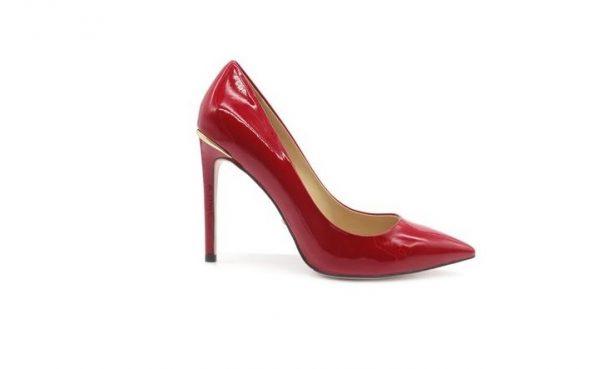 Туфли красные из лакированной кожи в интернет-магазине www.dressex.ru