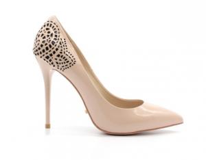 Туфли лодочки из натуральной лакированной кожи в интернет-магазине www.dressex.ru