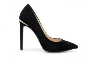 Angelina Voloshina туфли из натуральной замши на каблуке 10 см в интернет-магазине www.dressex.ru