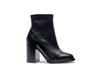 Angelina Voloshina ботильоны из натуральной кожи каблук 10 см в интернет-магазине www.dressex.ru